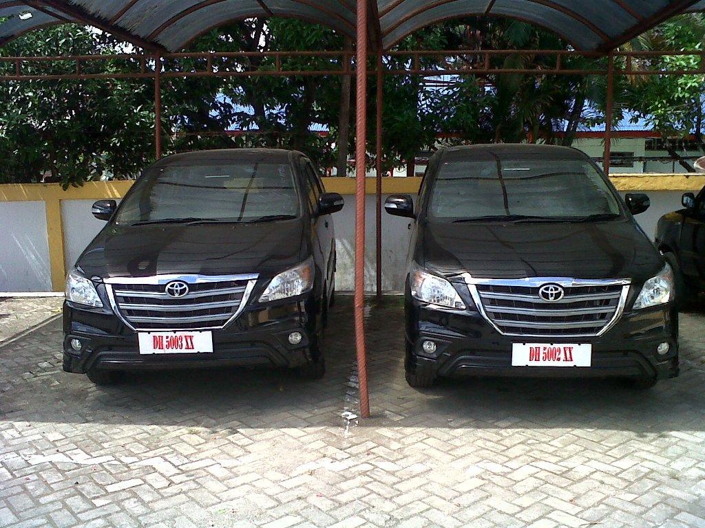 Inilah Mobil Pimpinan DPRD Belu, yang menurut informasi telah dialihkan menjadi mobil operasional Komisi