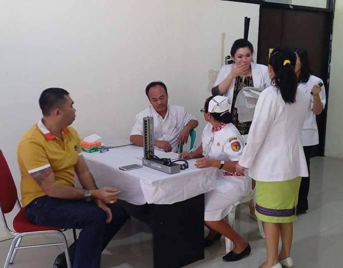Bakal Calon Bupati Belu, Ventje J.R. Abanit, jalani pemeriksaan kesehatan di RSU Mgr. Gabriel Manek, SVD, Atambua.