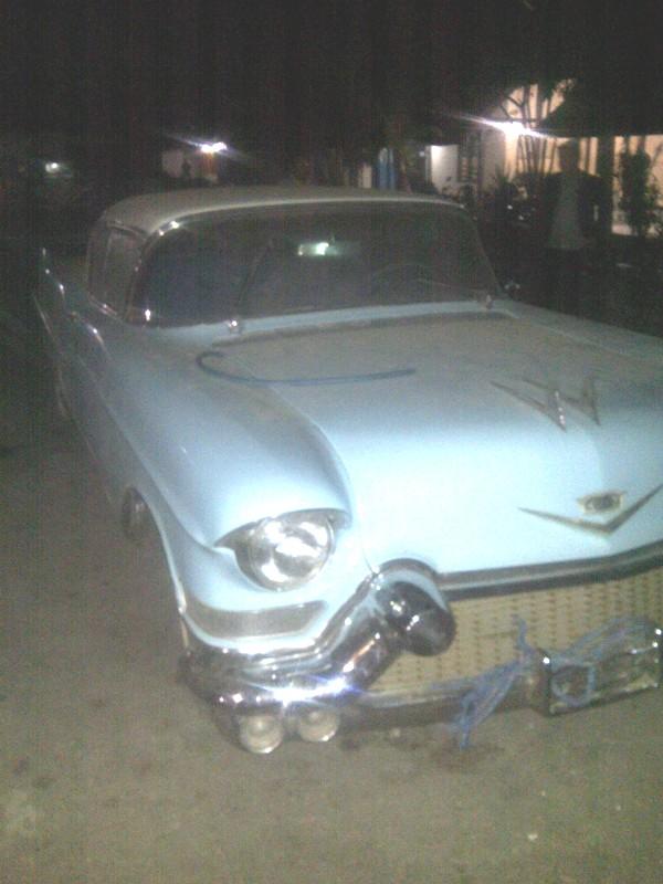 Inilah mobil Cadillac yang diselundupkan dari Timor Leste ke Atambua, Indonesia.