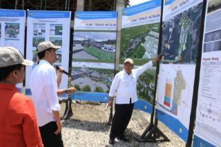 Presiden Pantau Peta Pembangunan PLBN Moata'ain, Belu, NTT