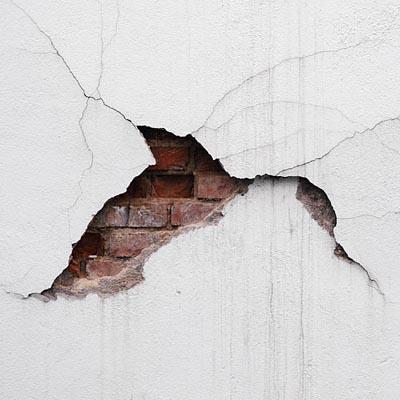 Ilustrasi Dinding Retak