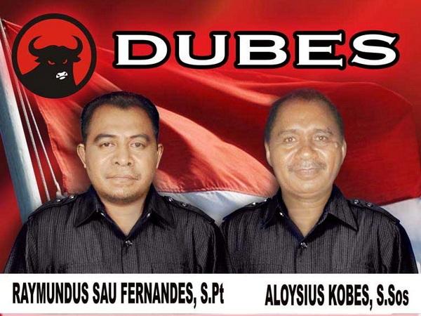 Pasangan Bupati/Wabup TTU Terpilih, Raymundus S. Fernandes-Aloysius Kobes