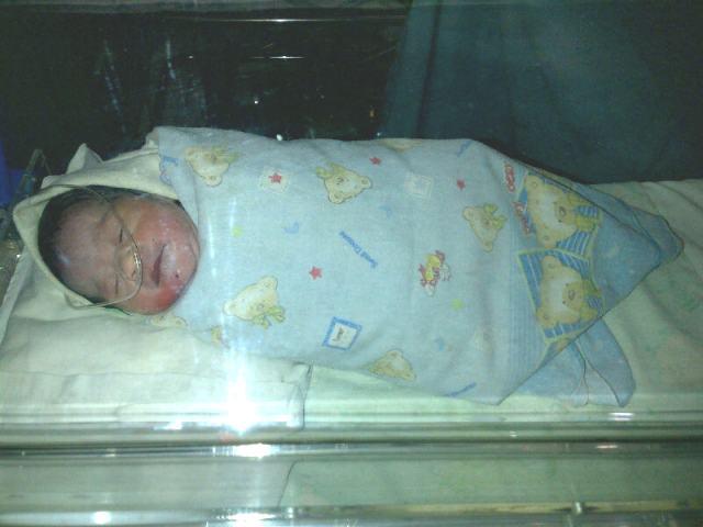 Inilah bayi yang dibuang orang tuanya.