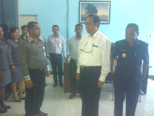 Bupati/Wakil Bupati Malaka ketika berdikusi dengan pimpinan Bank NTT Cabang Betun.