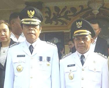 Bupati dan Wakil Bupati Malaka