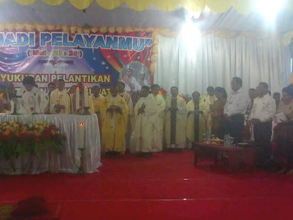 Misa syukur Pelantikan Bupati/Wakil Bupati Malaka.