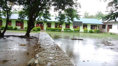 Inilah SD GMIT Uitao, Semau Kabupaten Kupang.