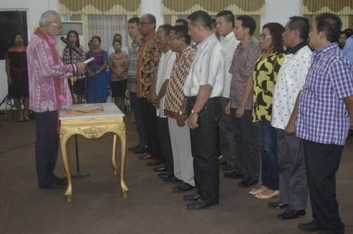 Kadin Belu dilantik Ketua Kadin NTT.