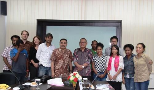 Pemerhati HAM Papua bertemu jajaran LPSK.