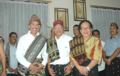 Jefri Riwu Kore Lamar Hermanus Man sebaga Balon Wawali Kupang.