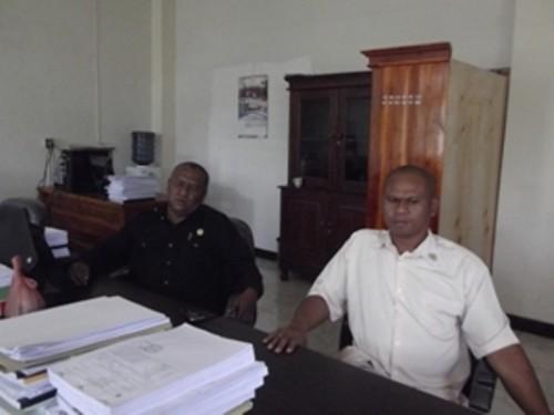 Anggota DPRD Kota Kupang memberi keterangan terkait PIP.