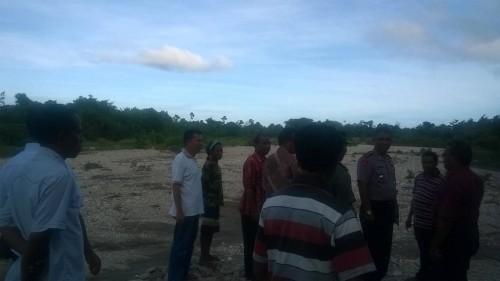 Tim BWS NTT dan Kecamatan Kobalima Timur, Malaka. pantau Mota Babulu.