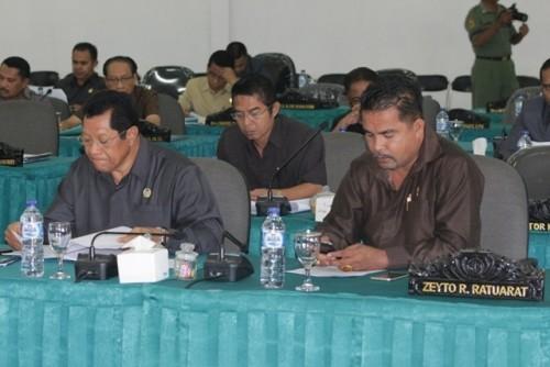 Tampak DPRD Kota Kupang mengikuti sidang 2.
