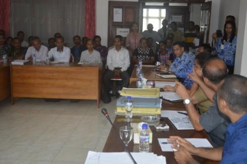 Pertemuan Wein dengan anggota yang dimediasi DPRD Belu.