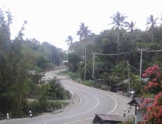 Inilah ruas jalan Sabuk Perbatasan yang begitu mulus di Alas, Kobalima Timur, Malaka.