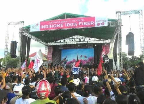 Konser Slank di Atambua, Timor Barat, NTT.