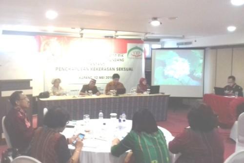 Seminar RUU kekerasan seksual di Kupang.