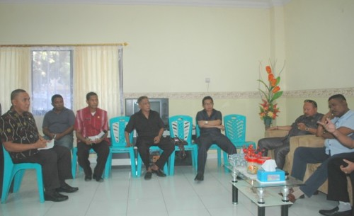 Komisi III DPRD Kota Kupang bertemu jajaran Damkar Kota Kupang.