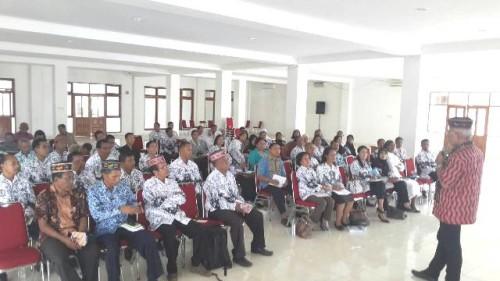 Senator NTT Sosialisasi Empat Pilar. Liyanto: Perbedaan jangan Diperdebatkan Lagi