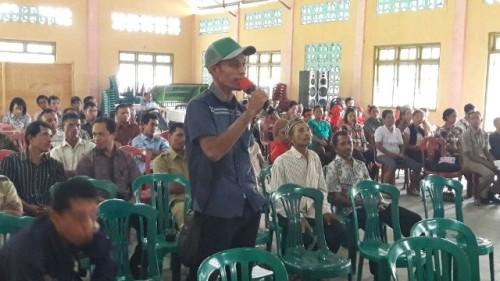 Honing Sanny sosialisasi di Komodo, Manggarai Barat, NTT.