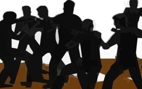 Ilustrasi Bentrokan Pemuda.