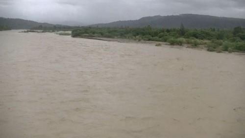 Banjir di Sungai Benenain.