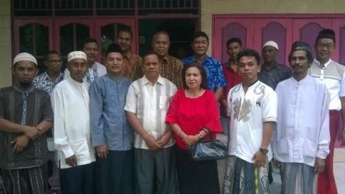 Jajaran MUI Malaka pose bersama Wabup Malaka, Daniel Asa