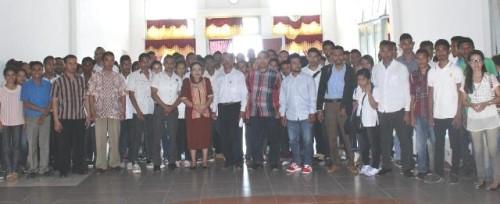 Pelepasan peserta KKN Universitas PGRI di Kabupaten Kupang