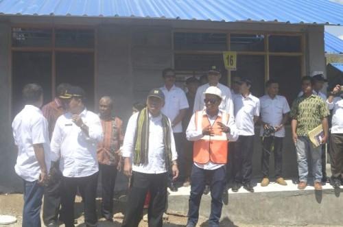 Menteri PUPR lihat Rumah Khusus yang dibangun di Belu.