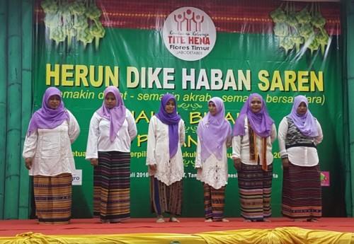 Acara Halal bi Halal Paguyuban Tite Hena.