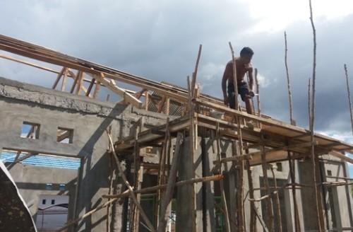 Inilah Aula proyek aula Satpol PP Kota Kupang.