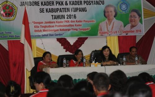 Jambore Kader PKK Kabupaten Kupang.