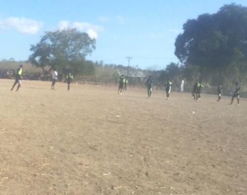 tim Odong-odong versus Bungtilu FC.