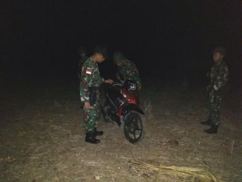 Satgas Pamtas RI-RDTL gagalkan penyelundupan sepeda motor ke Timor Leste.