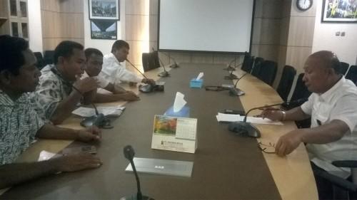 DPRD Malaka audiens dengan KemenPUPR.