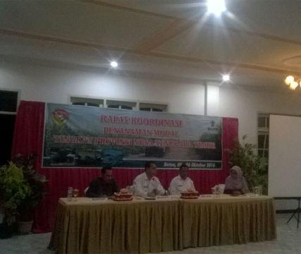 Bupati dan Wakil Bupati Malaka hadiri rakor investasi.