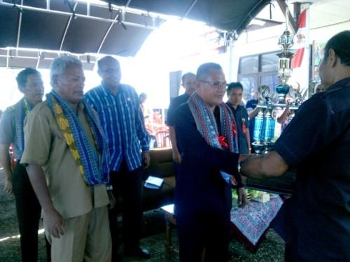 Suasana pembukaan pameran pertanian di Kabupaten Kupang.