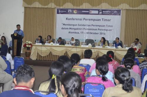 Bupati Belu bukan Konferensi Perempuan Timor di Atambua.