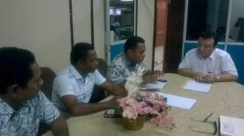 DPRD Malaka ketika melakukan konsultasi ke KemenPUPR.