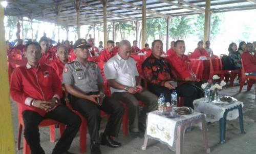 Bupati Malaka dan undangan hadiri Rakercab PDI Perjuangan Malaka.