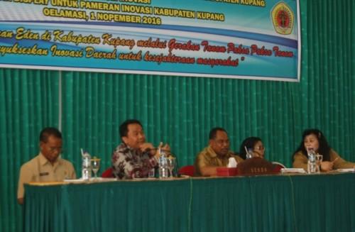 Rapat persiapan Laboratorium Inovasi di Kabupaten Kupang.