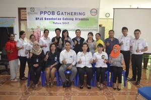 Tim BPJS Atambua pose bersama.