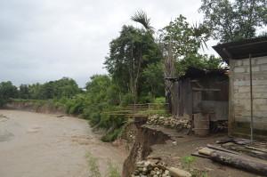 Inilah rumah warga Fatubenao yang terancam rusak.