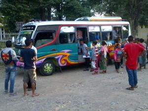 22 AKAD diberangkatkan ke Kupang, untuk selanjutnya ke Nunukan.
