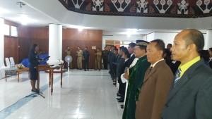Plt Wali Kota Kupang, kukuhkan 115 pejabat.