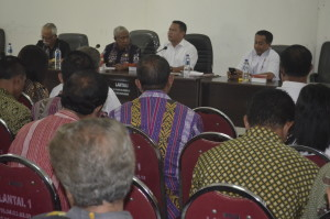 Ketua Komisi V DPR RI dialog dengan Pemkab Belu.