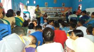 Ferry Kase sosialisasi empat pilar kebangsaan di Desa