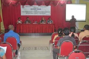 Seminar Nasionalisme yang digelar LPMTI Belu.