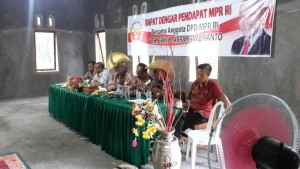 Anggota MPR RI Paul Liyanto Gelar RDP. Warga Minta Tanah HGU PT. PGGS Dikembalikan kepada Masyarakat