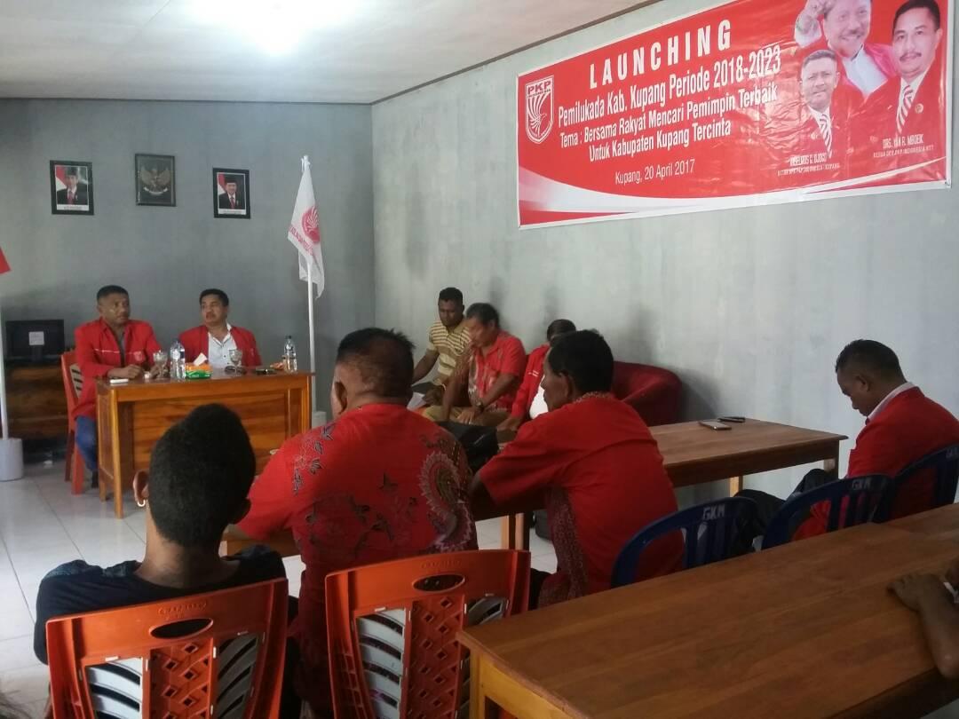 PKPI Kabupaten Kupang gelar launching Pilkada.